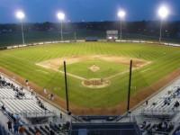 Sal Maglie Stadium playing field.