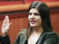 Assemblywoman Wozniak admonished for pantless prodigies with male legislative aide