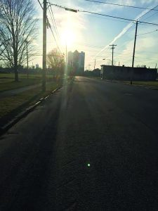 It's a lonely street this side of Seneca.