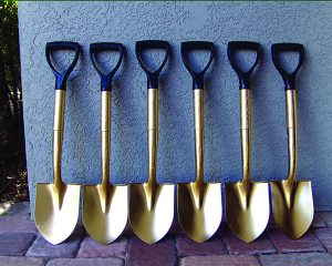 Once again it is golden shovel time for the Hamister hotel as Gov. Andrew Cuomo has announced developer Mark Hamister finally has the money to build his third rate hotel.