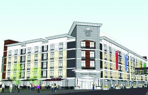 This is one of Hamister's earlier hotel proposals. It has been downgraded since then.