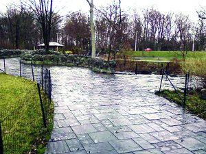 Over a half-million dollars' worth of substandard granite pavers now grace Niagara Falls State Park, courtesy of a suspected bid rigging scheme perpetrated by Gov. Cuomo's State Parks agency.