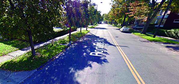 What lies under Portage Road?  A test would find out conclusively.