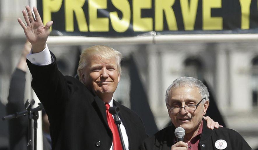 Donald Trump and Carl Paladino