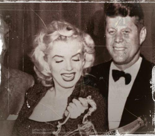 Jack Kennedy and Marilyn Monroe both stayed at the Hotel Niagara, although not at the same time, in the same room.