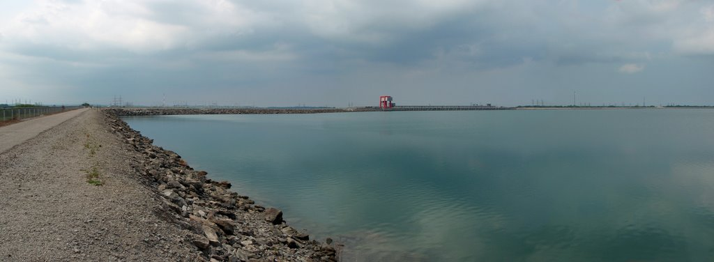 The Lewiston Reservoir is a 1,900-acre, 22 billion gallon reservoir elevated more than 30 feet above the Niagara escarpment.