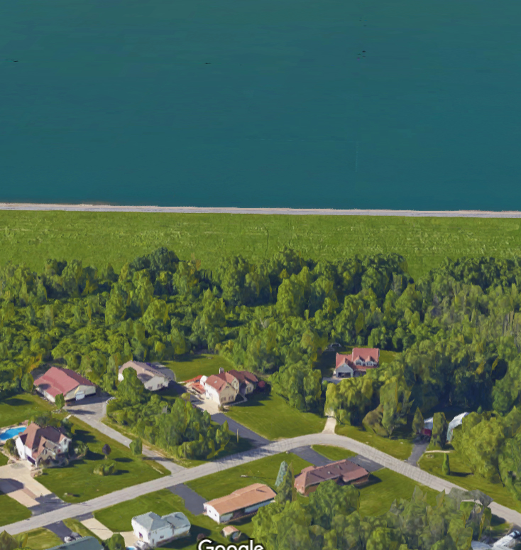 As one can see from the picture, the reservoir is elevated and stores water above the houses below it. An inundation plan exists and the Reporter will attempt to obtain it.