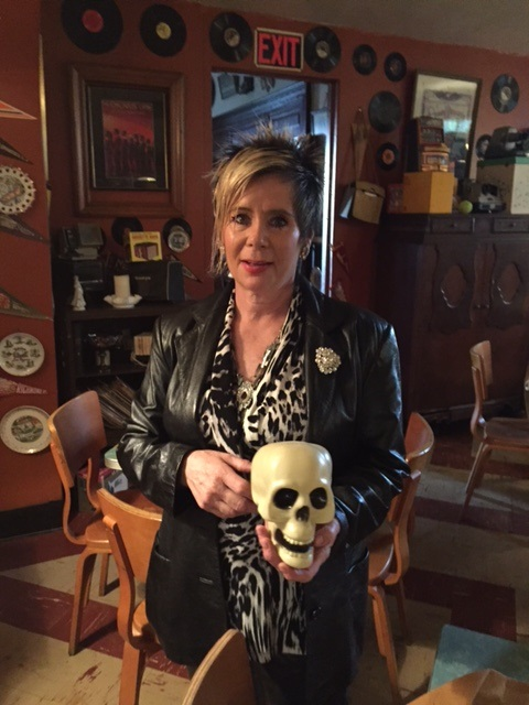 Deborah Sirianni ...ghostly mansion reopens Friday.