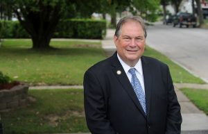 """John Ceretto explained his decision to switch political affiliations: """"I first got involved in public service to help our neighbors and have always put people ahead of politics, and that won't change,"""" he said in the statement."""