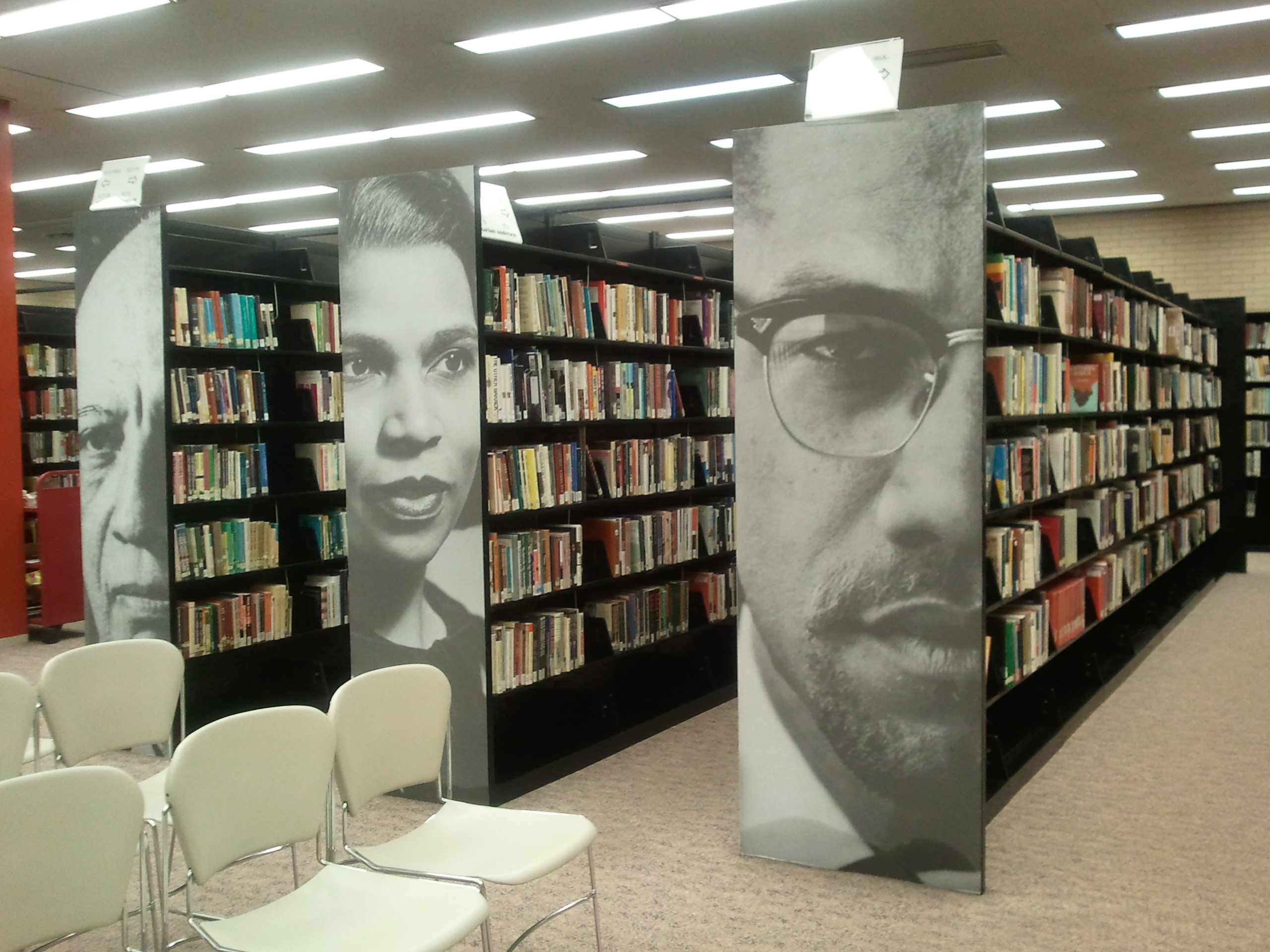 Black Studies Section in the Niagara Falls Public Library