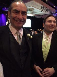 James Roscetti and Michael Roscetti... father and son at Gala