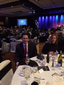 Henry and Caroline Wojtaszek... attend Gala