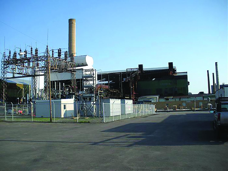 Globe Metallurgical Plant in Niagara Falls.