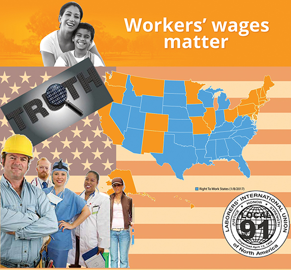 LIUNA Opposes Deceptive Legislation to Slash Working Class Wages  and Family-Sustaining Jobs