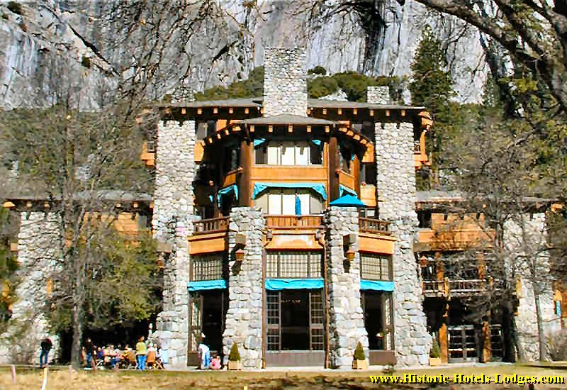"""Shown the door at Yosemite, here is the """"lodge"""" Jacobs' Delaware North left behind. Then they tried to virtually extort the National Parks Service into purchasing the hotel's name, Ahwahnee, among other traditional Yosemite names they had trademarked."""