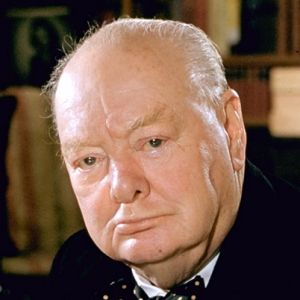 Winston Churchill was able to take a stand.