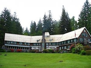 Kalaloch at Olympic National Park in the state of Washington has 10 lodge rooms, 6 motel rooms, 4 motel suites, 40 cabins and 6 duplex cabins. Wouldn't this look just grand on Goat Island?