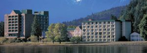 The 337-room Harrison Hot Springs, British Colombia, Canada. Is this what the Niagara Lodge is destined to look like on the once-beautiful and natural Goat Island?