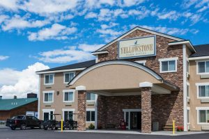 """The Yellowstone Park Hotel. """"By adding the 66-room Yellowstone Park Hotel and the 103 rooms at the Gray Wolf, Delaware North now owns 292 hotel rooms in West Yellowstone."""""""