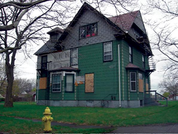 Blighted Buildings Vacant Houses Still Plague Niagara Falls