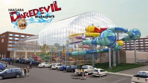 """Proposed """"Daredevil"""" themed water park"""
