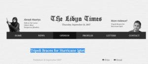 Basit Ingtet in Libya Times