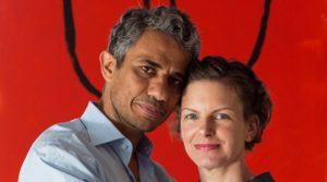 Sara Bronfman and her husband Basit Ingtet