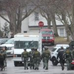 Live Photos from Police Stand-Off in Village of Lewiston