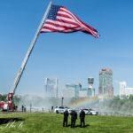 """Patriot Flag"" Makes Stop in Niagara Falls"