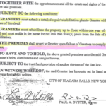 Please see the supporting document article:https://niagarafallsreporter.com/supporting-documents-regarding-memorial-parkway-home-giveaway-by-piccirillo/