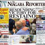 November 6th, 2019, Edition of the Niagara Reporter Newspaper