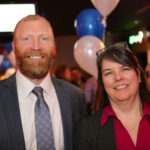 Niagara County Judge candidate Michael E. Benedict received the endorsement of Lockport Mayor Michelle Roman this morning. She attended Benedict's Feb. 12 campaign launch and decided this weekend to throw her support behind the Lockport attorney's candidacy.